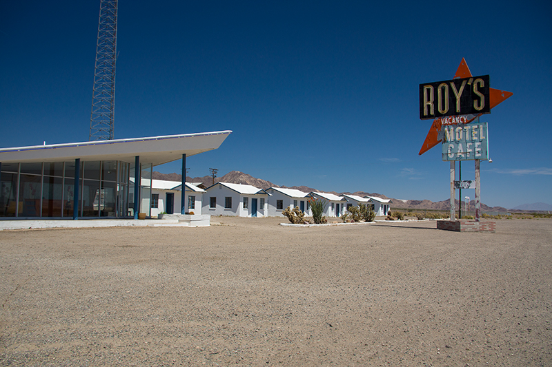 Motel in Ambroy Route 66