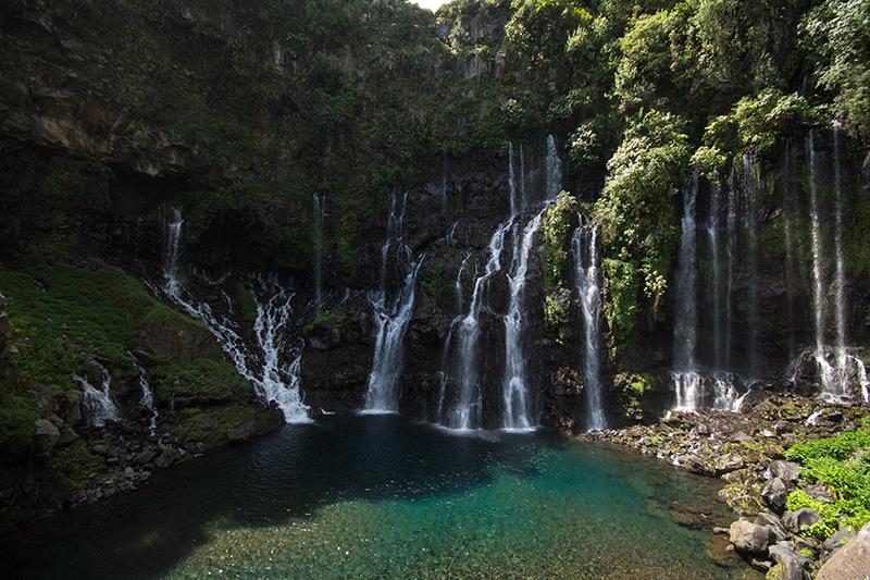 Wasserfälle bei Grand Cadet